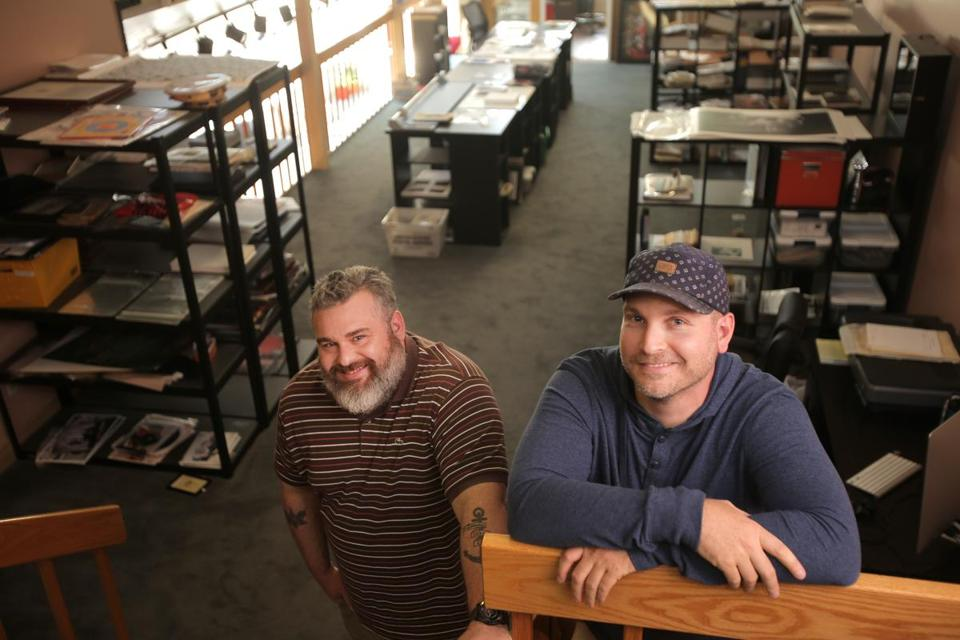 House of Roulx is a memorabilia company run by Trevor (left) and Jared Gendron.